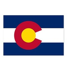 Colorado Flag Postcards (Package of 8)