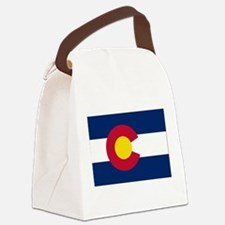 Colorado Flag Canvas Lunch Bag