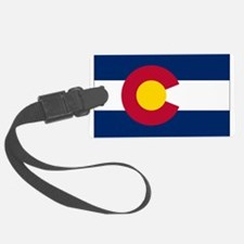 Colorado Flag Luggage Tag