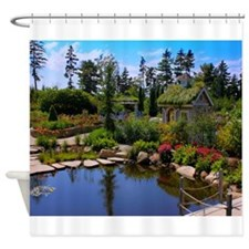 Coastal Maine Botanical Garden Shower Curtain