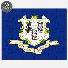 Connecticut Flag Puzzle