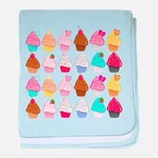 Lots Of Cupcakes baby blanket