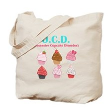 Obsessive Cupcake Disorder Tote Bag