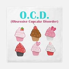 Obsessive Cupcake Disorder Queen Duvet