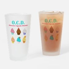 Obsessive Cupcake Disorder Drinking Glass
