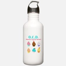 Obsessive Cupcake Disorder Sports Water Bottle