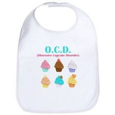 Obsessive Cupcake Disorder Bib
