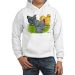 Feather-legged Bantams Hooded Sweatshirt