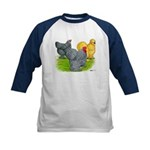 Feather-legged Bantams Kids Baseball Jersey