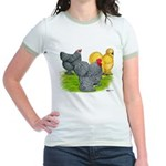 Feather-legged Bantams Jr. Ringer T-Shirt