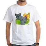 Feather-legged Bantams White T-Shirt