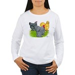 Feather-legged Bantams Women's Long Sleeve T-Shirt