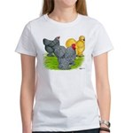Feather-legged Bantams Women's T-Shirt