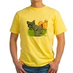 Feather-legged Bantams Yellow T-Shirt