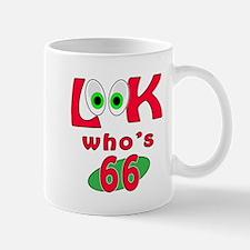 Look who's 66 ? Mug