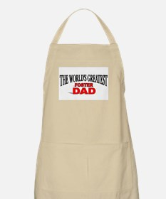 """The World's Greatest Foster Dad"" BBQ Apron"