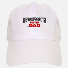 """The World's Greatest Foster Dad"" Baseball Baseball Cap"