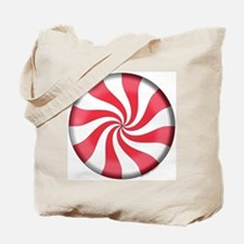 Peppermint Candy Tote Bag