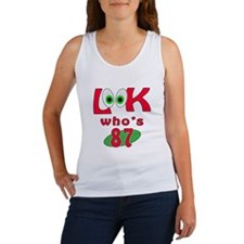 Look who's 87 ? Women's Tank Top