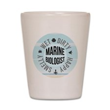 Marine Biologist Shot Glass