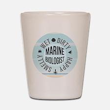 Marine Biologist Shot Glass