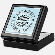 Marine Biologist Keepsake Box