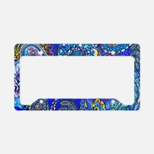 Wild Paisley License Plate Holder