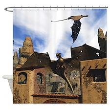 Dragon Land 3 Shower Curtain