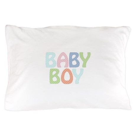 Cute Baby Boy Pillow Case by cuteness2