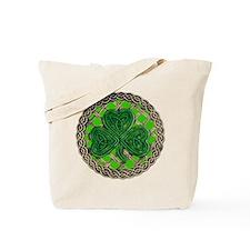 Shamrock And Celtic Knots Tote Bag