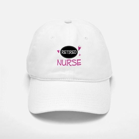 Retired Nurse Baseball Baseball Cap