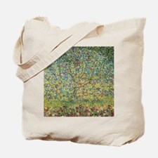 Apple Tree Klimt Tote Bag