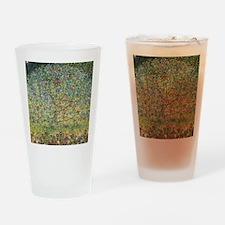 Apple Tree Klimt Drinking Glass