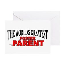 """The World's Greatest Foster Parent"" Greeting Card"