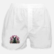 Black Schnauzer Boxer Shorts
