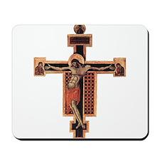 Pisa Cimabue: Crucifix Mousepad