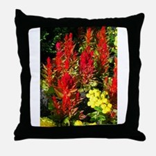 flowers mix Throw Pillow