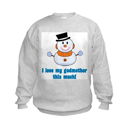 Love godmother Kids Sweatshirt