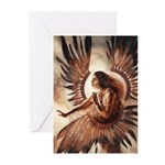 Angel of Energy Greeting Cards (Pk of 10)