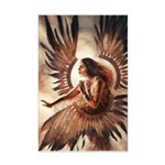 Angel of Energy Mini Poster Print