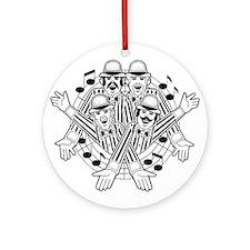 barbershop quartet Ornament (Round)