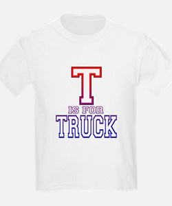 T is for Truck Kids T-Shirt