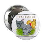 Feather-leg Trio Button