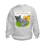 Feather-leg Trio Kids Sweatshirt