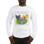 Feather-leg Trio Long Sleeve T-Shirt