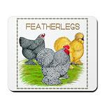 Feather-leg Trio Mousepad