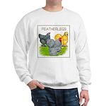 Feather-leg Trio Sweatshirt