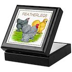 Feather-leg Trio Keepsake Box