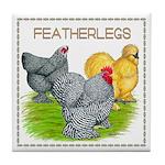 Feather-leg Trio Tile Coaster