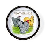 Feather-leg Trio Wall Clock